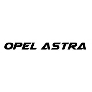 Stickers LETTRAGE OPEL ASTRA