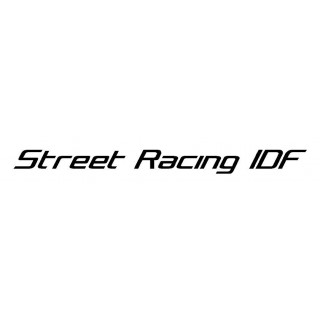 Stickers STREET RACING IDF