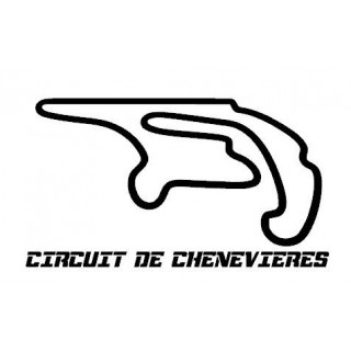 Stickers TRACÉ CIRCUIT CHENEVIERES