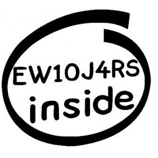 Stickers EW10J4RS INSIDE
