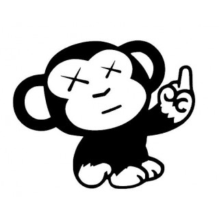 Stickers MONKEY