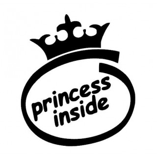 Stickers Princesse Inside