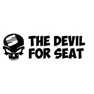 Stickers DEVIL FOR SEAT