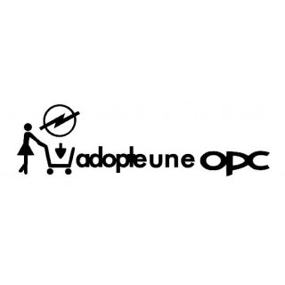 Stickers Adopte une OPC