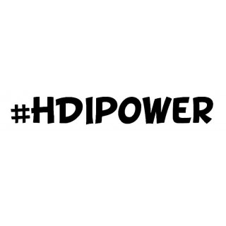 Stickers HDI POWER 2