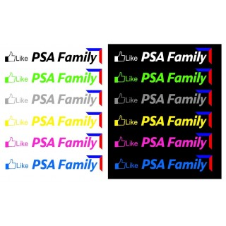 Stickers GROUPE PSA FAMILY