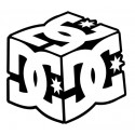 Stickers DC CUBE