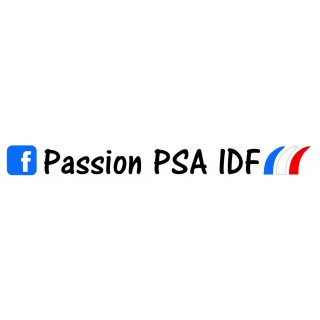 Stickers Groupe Passion PSA IDF