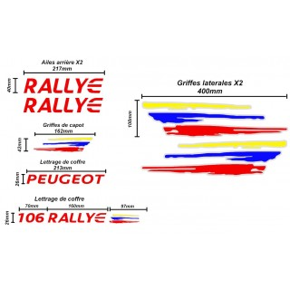 Kit Complet Peugeot 106 Rallye PTS