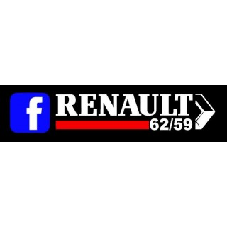Stickers GROUPE RENAULT 62/59