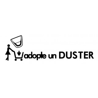Stickers Adopte un Duster