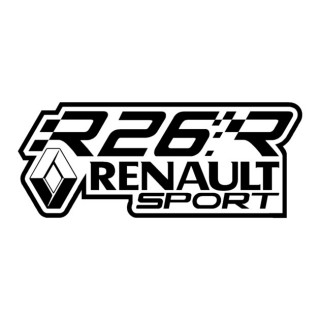 Stickers R26R Renault Sport