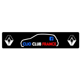 Cache Plaque Plexi Groupe Clio Club France