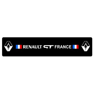 Cache Plaque Plexi Groupe Renault GT France
