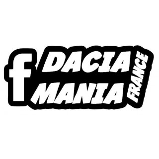 "Stickers Dacia Mania France ""Unis"""