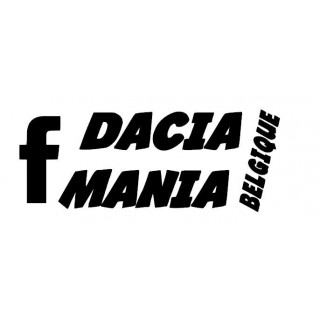 Stickers Dacia Mania Belgique