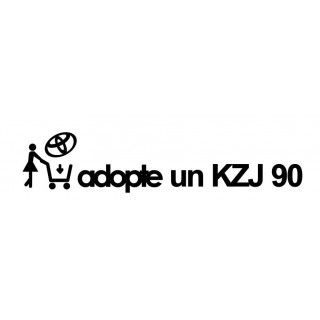 Stickers Adopte un KZJ 90