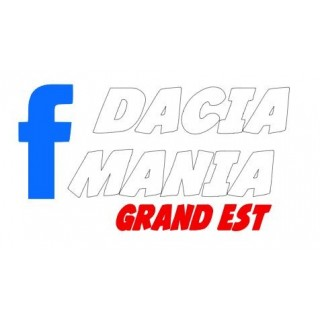 Stickers DACIA MANIA GRAND EST
