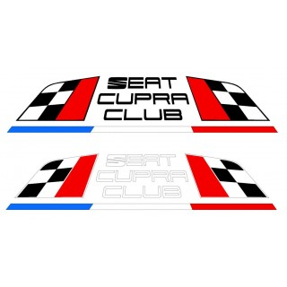 Stickers Groupe Seat Cupra Club