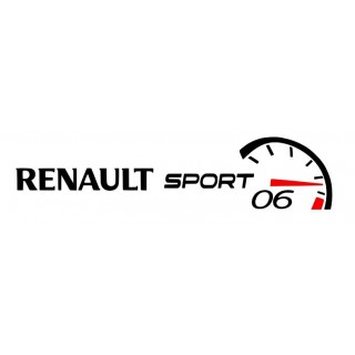 Stickers CLUB RENAULT SPORT 06 Compteur