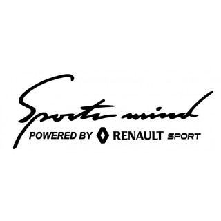 Stickers Powered By Renault Sport