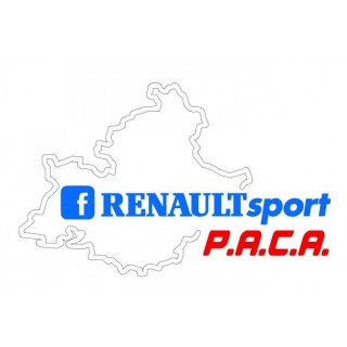 Stickers Renault Sport Paca Tri color