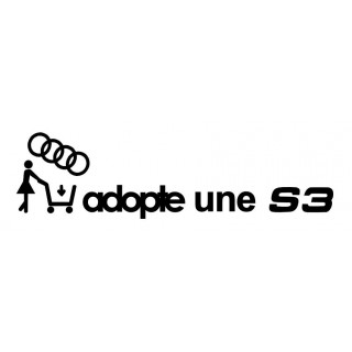Stickers Adopte une S3