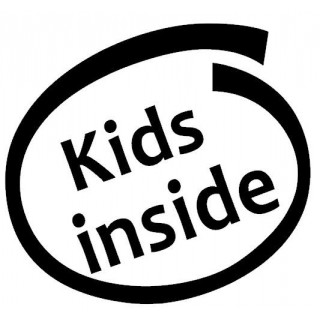 Stickers KIDS INSIDE