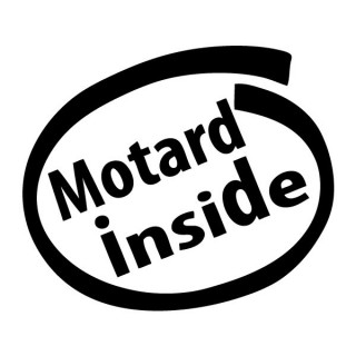 Stickers MOTARD INSIDE