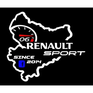 Stickers CLUB RENAULT SPORT 06