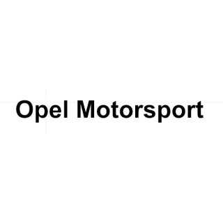 Stickers LETTRAGE OPEL MOTORSPORT