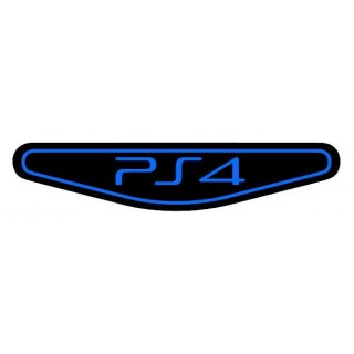 2 Stickers LightBar PS4 Version Contour