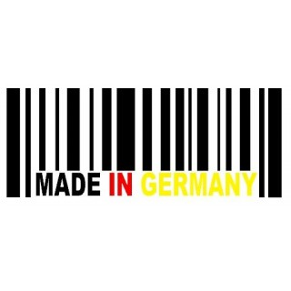 Stickers MADE IN GERMANY Tri Color