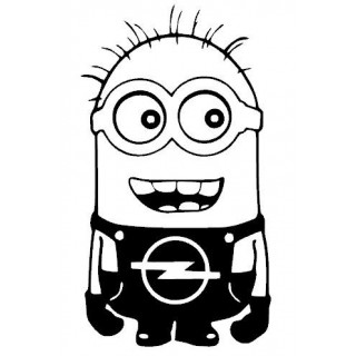 Stickers MINION OPEL 1
