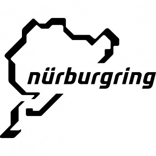 Stickers CIRCUIT NURBURGRING 3