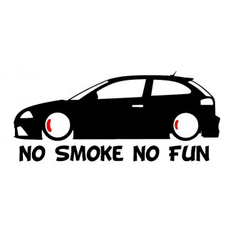 Stickers IBIZA NO SMOKE NO FUN
