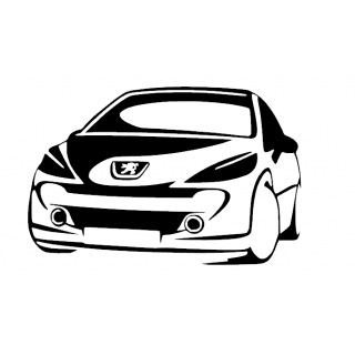 Stickers PEUGEOT 207 RC