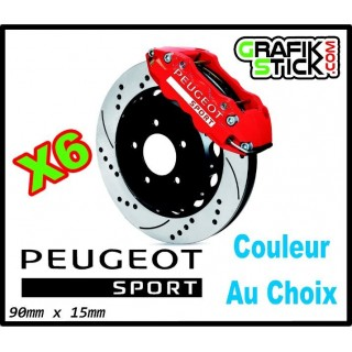 Stickers Étriers de Freins PEUGEOT SPORT GRAND