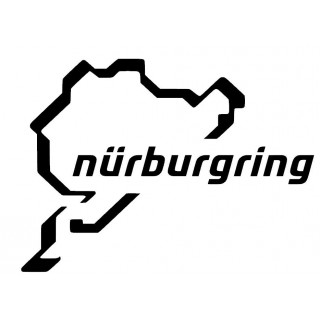 Stickers CIRCUIT NURBURGRING XXL