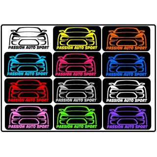 Stickers  PASSION AUTO SPORT