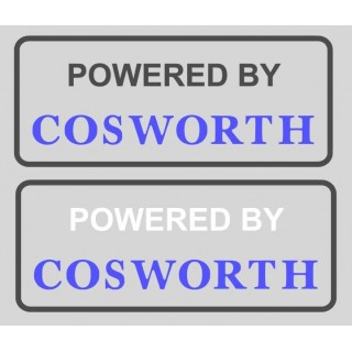 Stickers POWERED BY COSWORTH