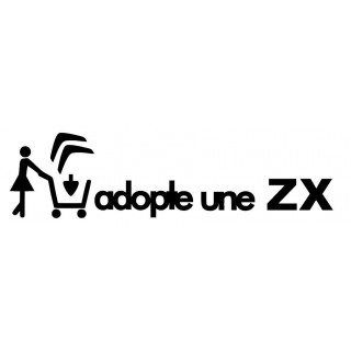 Stickers Adopte une ZX