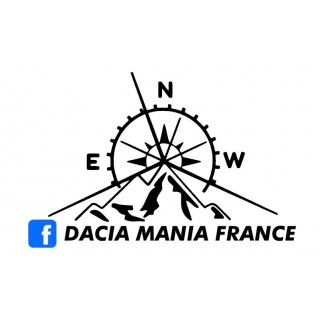 Stickers Dacia Mania France