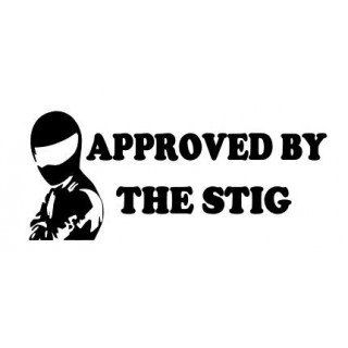 Stickers APPROVED BY THE STIG