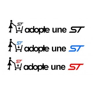 Stickers Adopte une ST