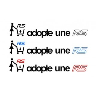 Stickers Adopte une RS