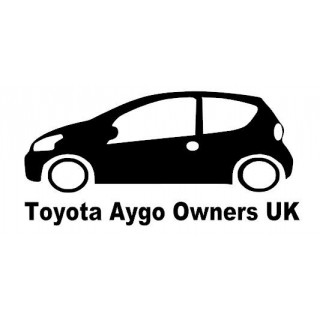 Stickers Toyota Aygo  Owners UK