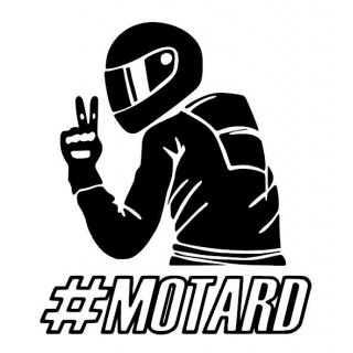 Sticker #MOTARD