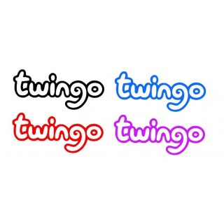 Stickers Twingo