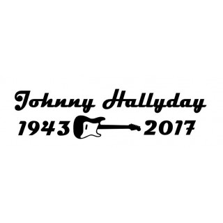 Stickers Hommage Johnny